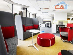 Giặt ghế sofa văn phòng công sở ở phố Duy Tân