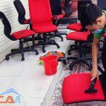 Giặt ghế văn phòng làm việc ở quận Thanh Xuân