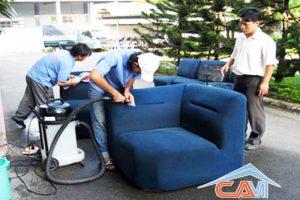 Giặt ghế sofa nỉ ở quận Đống Đa
