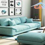 Giặt ghế sofa phòng khách ở quận Thanh Xuân