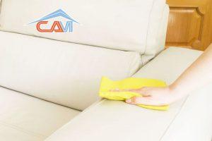 Làm sạch sofa da cực kỳ đơn giản tại nhà
